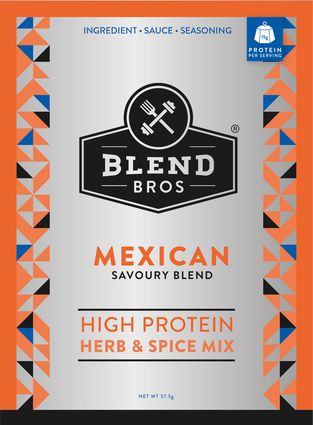 Blend Bros | Savoury Seasoning | Mexican 🇲🇽 3-Pack