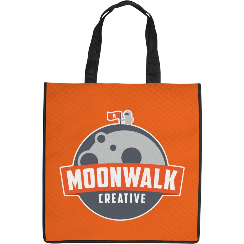 100% Print Shopper Bag - Tote Bag