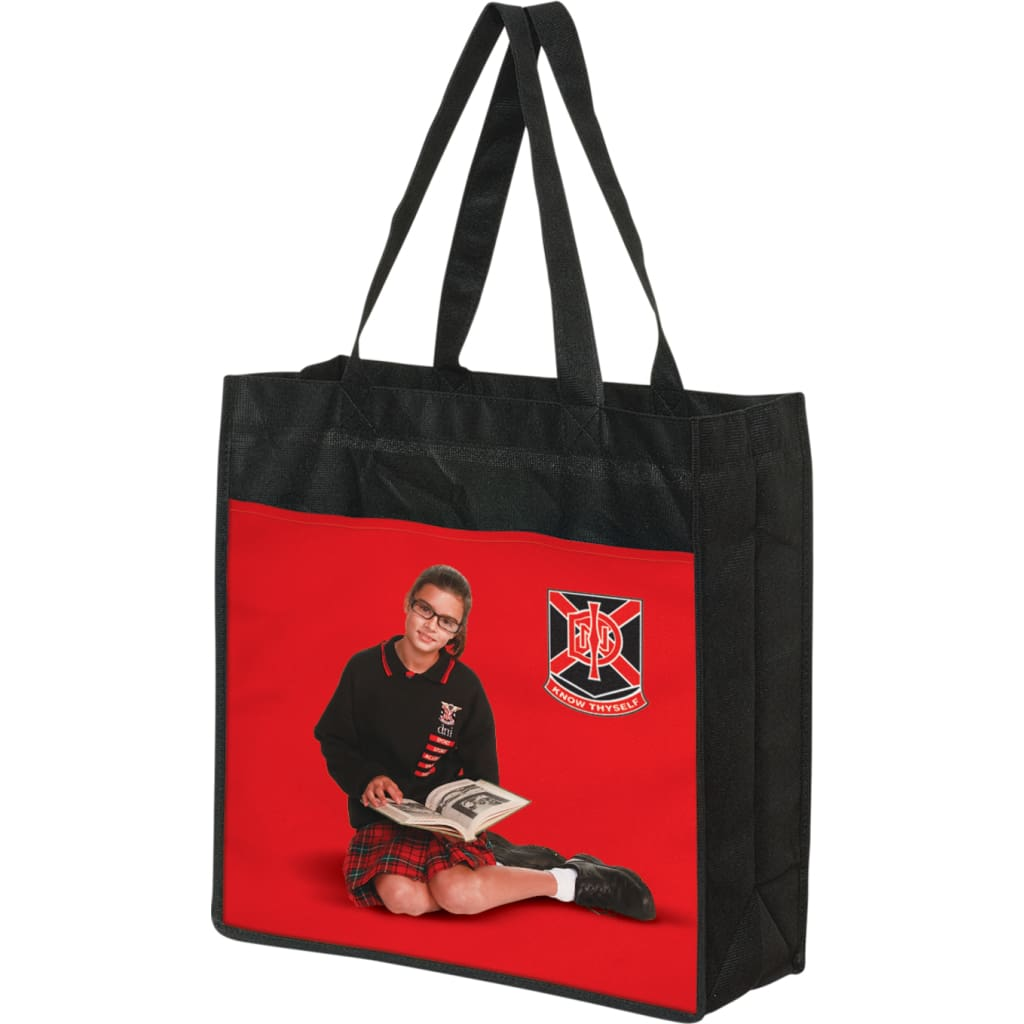 100% Print Shopper Bag Plus - Tote Bag