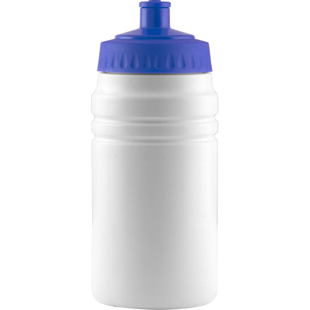 500ml Finesse Sports Bottle - White/Royal Blue - Drinks Bottle