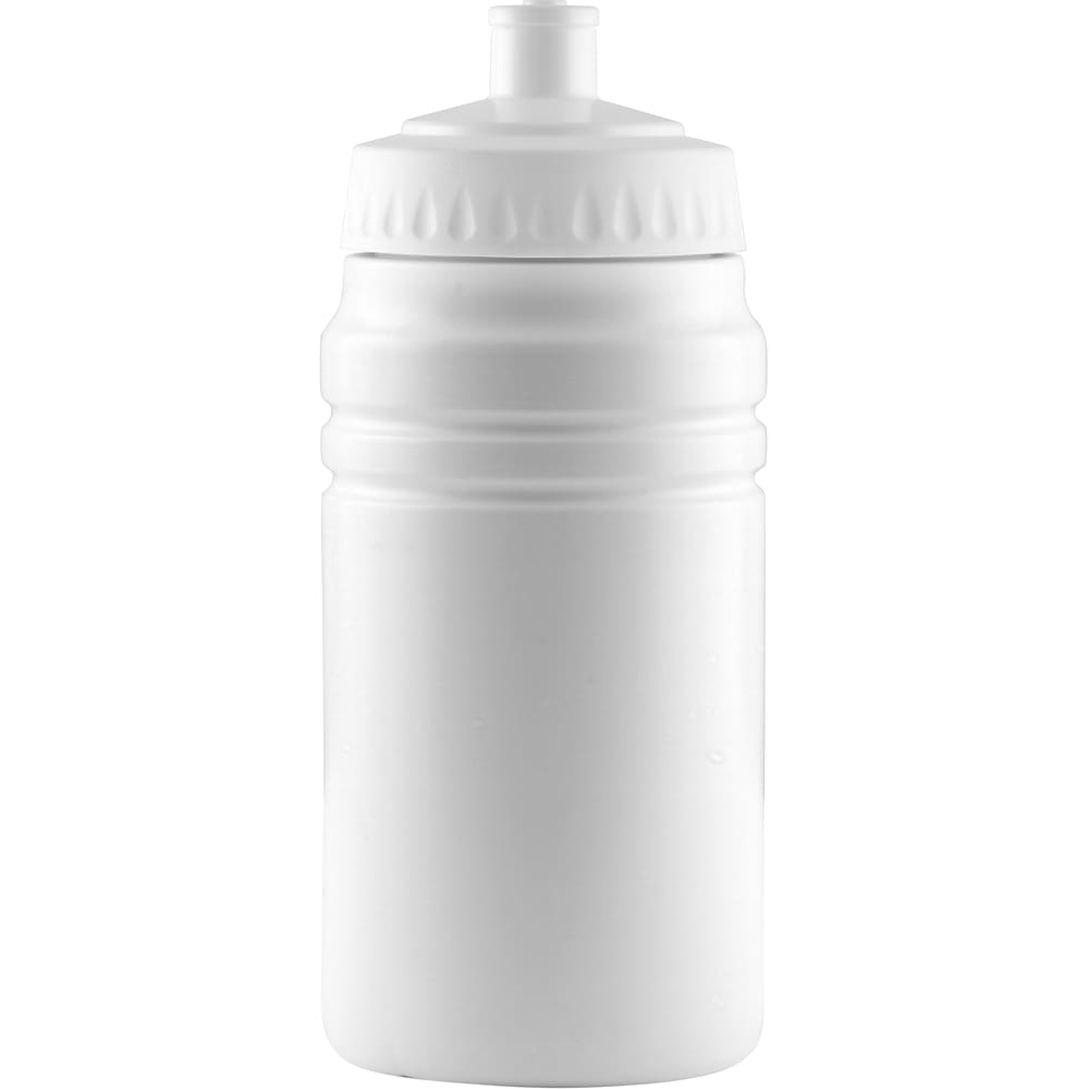 500ml Finesse Sports Bottle - White/White - Drinks Bottle