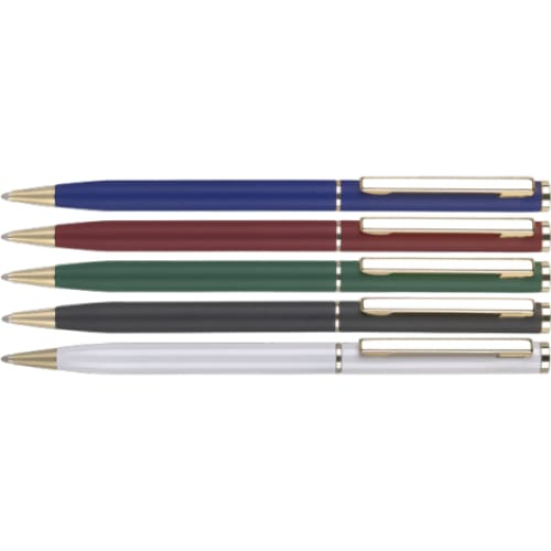 City Gold Metal Ballpen - Twist-Action Ballpen