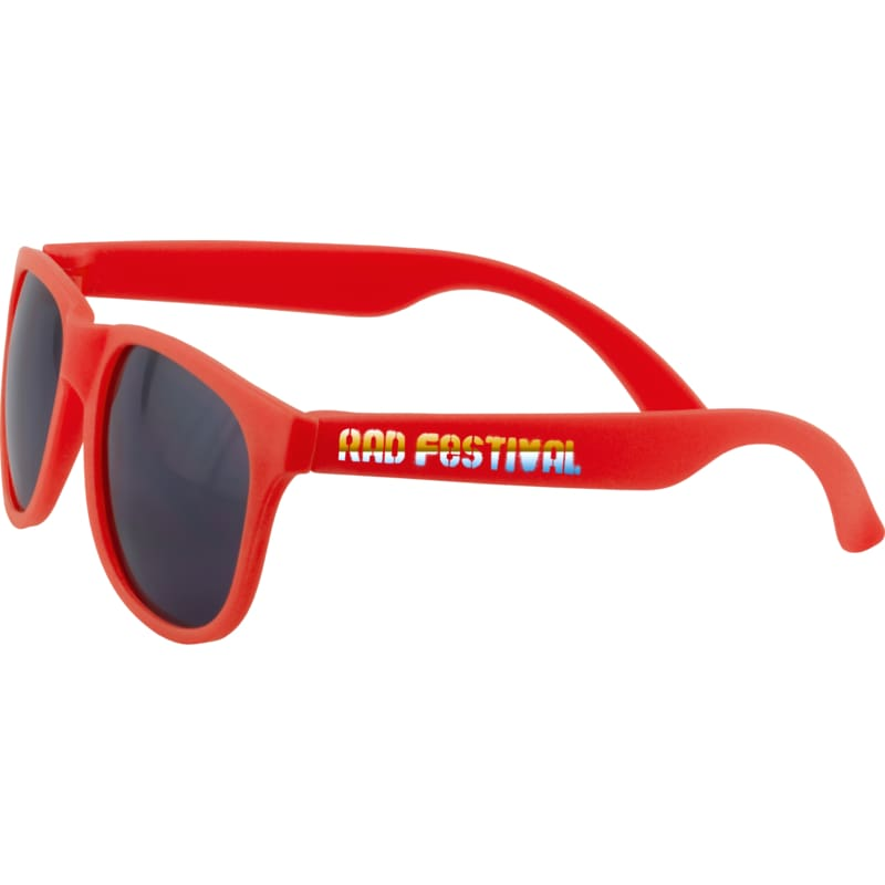 Classic Ray Sunglasses - Red - Sunglasses