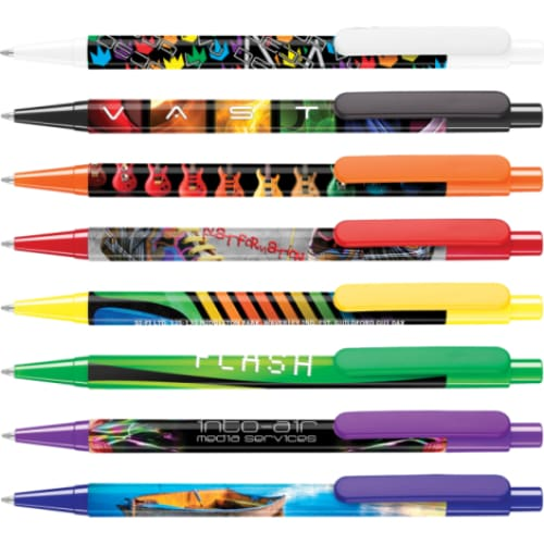 Clip Photo Ballpen - Push-Button Ballpen