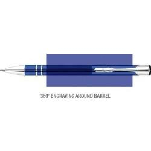 Elasis 360 Ballpen - Dark Blue - Push-Button Ballpen