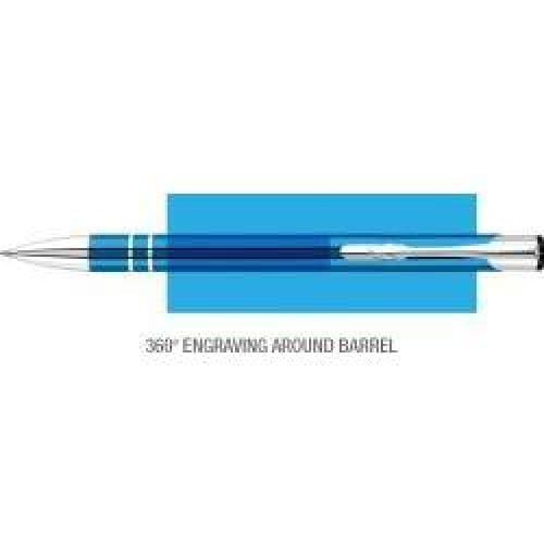 Elasis 360 Ballpen - Light Blue - Push-Button Ballpen