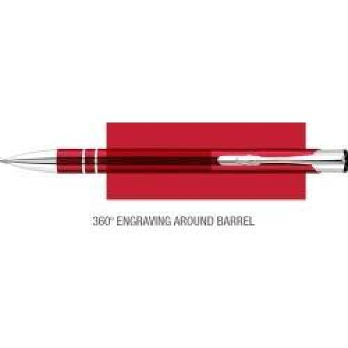 Elasis 360 Ballpen - Red - Push-Button Ballpen