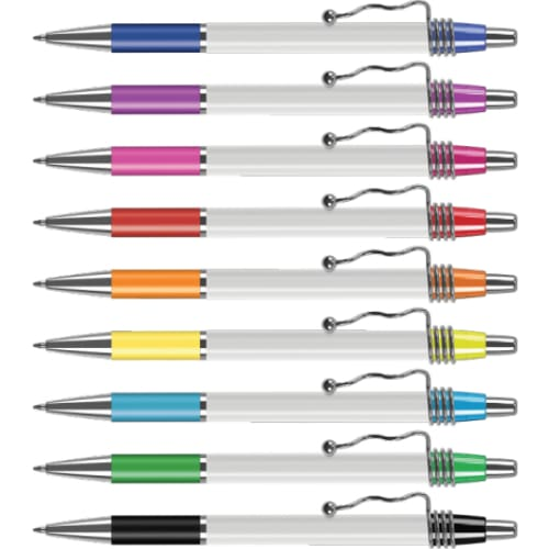 London E16 Ballpen - Push Button Ballpen