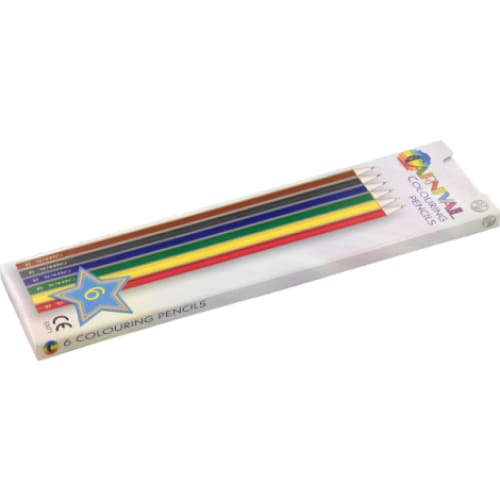 Printed Colouring Pencils - Colouring Pencils