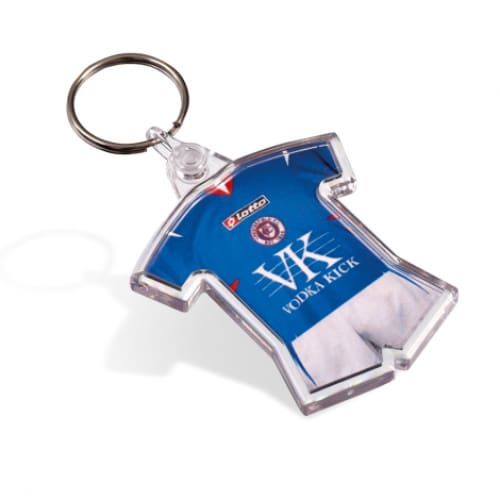 Printed Insert Football Kit Keyring - Keyring