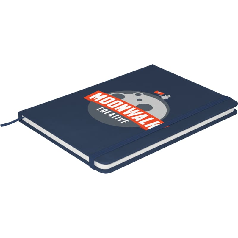 Soft Feel A5 Colour Notebook - Dark Blue - Notebook