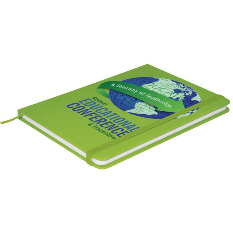 Soft Feel A5 Colour Notebook - Green - Notebook