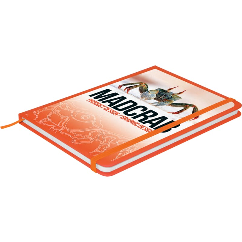 Soft Feel A5 Colour Notebook - Orange - Notebook