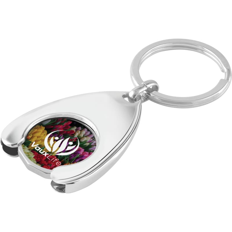 Trolley Coin Wishbone Keyring - Wishbone