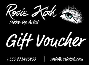 Gift Voucher Full Day Makeup Workshop with Rosie
