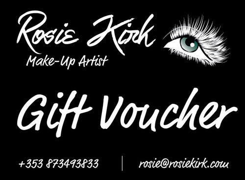 Gift Voucher for Makeup Application with Lashes