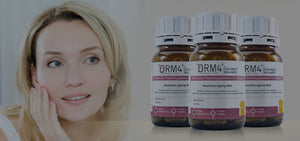 Fight Skin Ageing and Get Back a Youthful Glow and Vibrancy with New DRM4® Molecular Food Supplement for Skin
