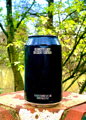 Magic Rock Brewing - Bearded Lady Dessert Edition. Black Forest Gateau