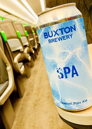 The Tipsy-Train Beer Blog with Buxton Brewery's Spa