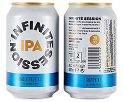 REVIEW: Alcohol Free - Infinite Session - India Pale Ale