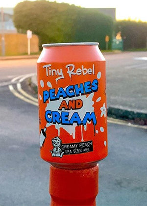 Tiny Rebel - Peaches & Cream