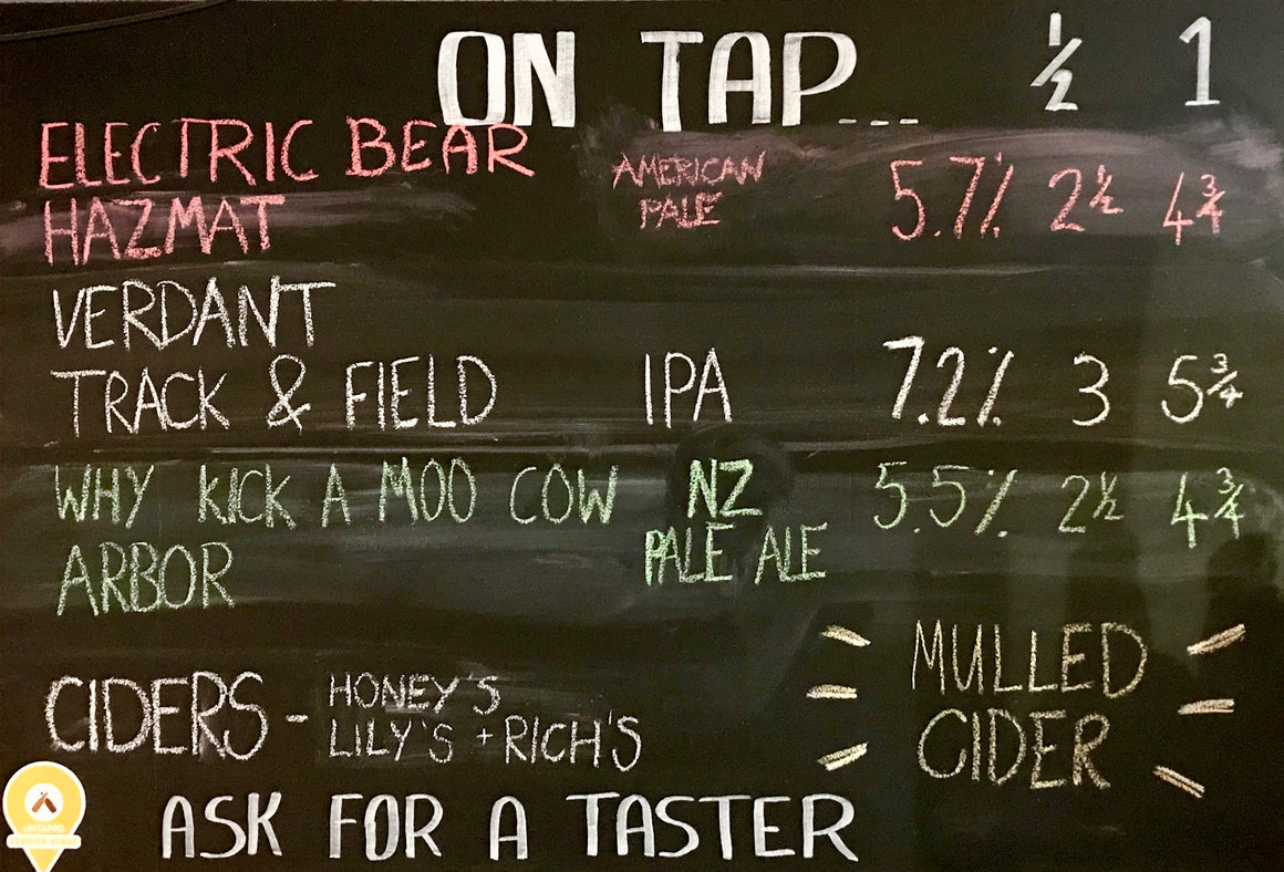 On Tap at BeerCraft Bath this Week