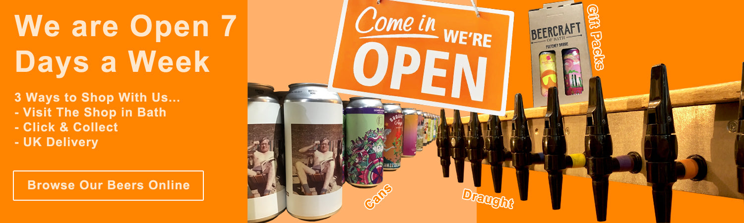 BeerCraft is Open 7 Days a Week