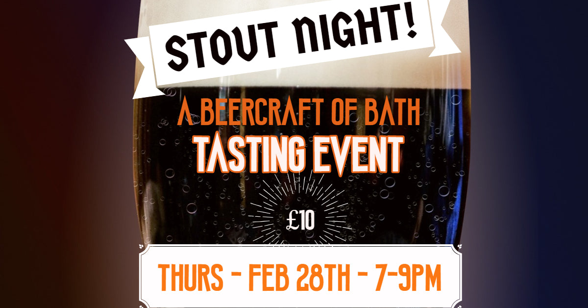 Stout Night at Beercraft Bath