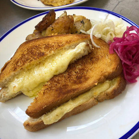The Classic - Cheese Melt Grilled Sandwich