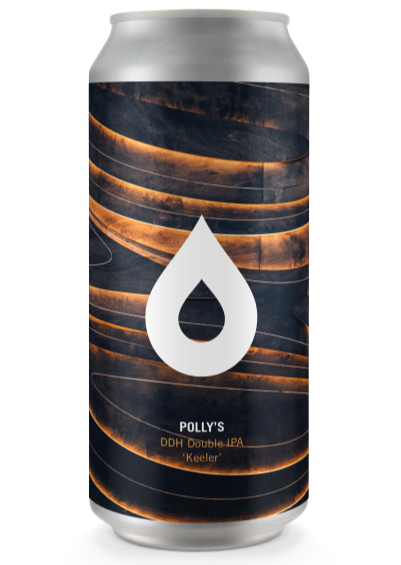 Polly's Brew Co - Keeler - DDH Double IPA - 440ml Can