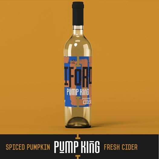 Iford Cider - Pump King - Spiced Pumpkin Cider - 750ml Bottle
