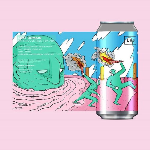 Left Handed Giant - Lost Domain - Farmhouse Pale - 440ml Can