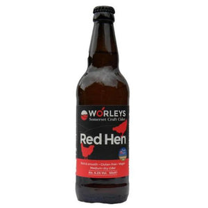 Worley's Cider - Red Hen - Medium Dry Cider - 500ml Bottle