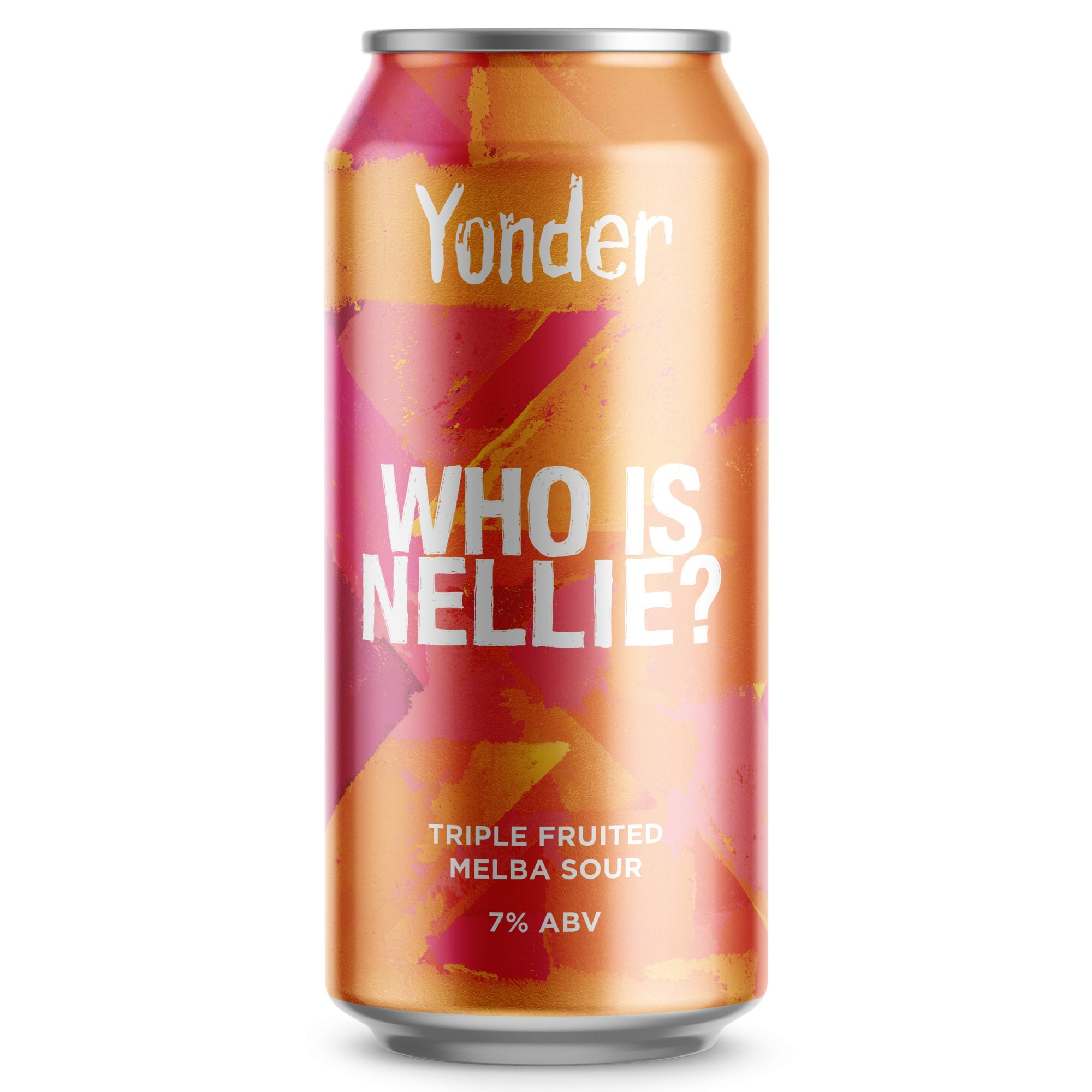 Yonder Brewing - Who is Nellie? - Triple Fruited Melba Sour - 440ml Can
