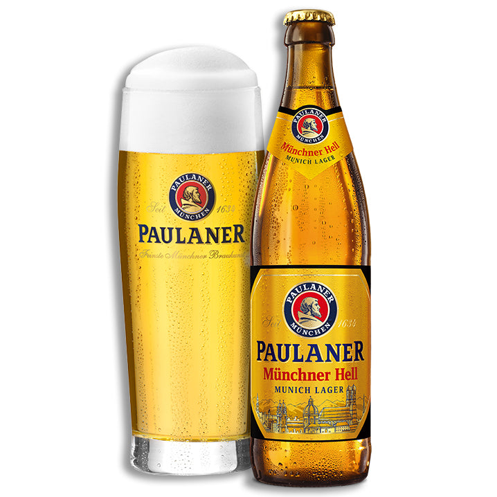 Paulaner Brewery - Münchner Hell - Classic Munich Lager - 500ml Bottle