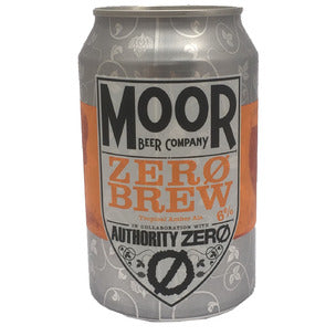 Moor Beer Company - Zero Brew - Tropical Amber Ale - 330ml Can