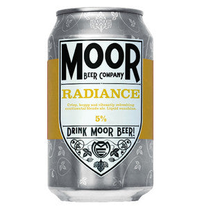 Moor Beer Company - Radiance - Golden Ale - 330ml Can