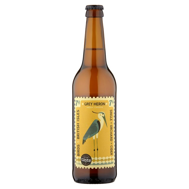 Perry's Cider - Grey Heron - Sweet Cider - 500ml Bottle