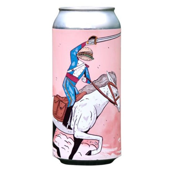 Left Handed Giant - Cheeseburger Cavalry - India Pale Ale - 440ml Can