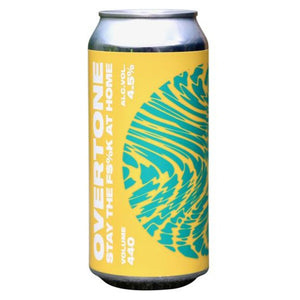 Overtone Brew Co - Stay the F$%k at Home - Hazy Session IPA - 440ml Can
