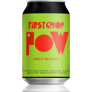 First Chop - POW - Juicy Session Ale - 330ml Can