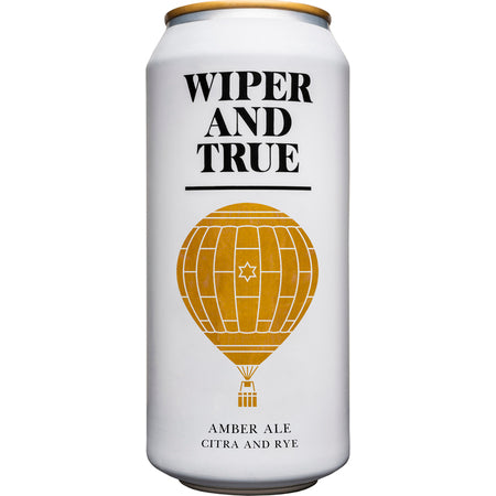 Wiper and True - Citra & Rye - Amber Ale - 440ml Can