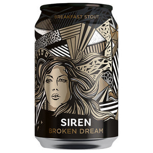 Siren Craft Brew - Broken Dream - Breakfast Stout - 330ml Can