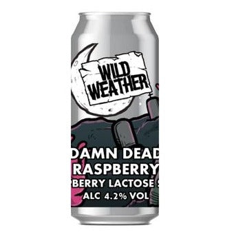 Wild Weather Ales - Damn Dead Raspberry - Raspberry Lactose Sour - 440ml Can