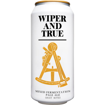 Wiper and True - Ghost Notes - Mixed Fermentation Pale Ale - 440ml Can