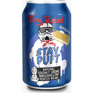 Tiny Rebel - Imperial Stay Puft - Coconut Creme Marshmallow Porter - 330ml Can