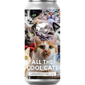 Lost and Grounded - All the Cool Cats - Unfiltered Helles - 440ml Can