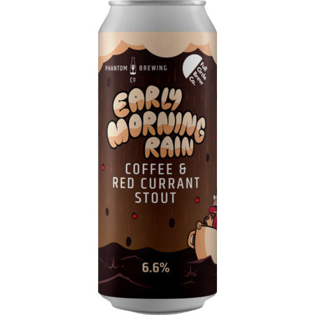 Phantom x Full Circle - Early Morning Rain - Coffee and Redcurrant Stout - 440ml Can