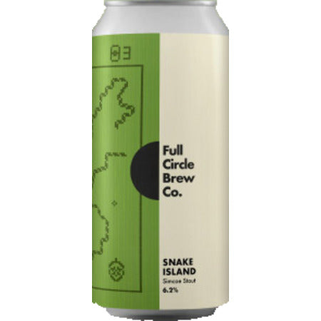 Full Circle Brew Co - Snake Island - Simcoe Stout - 440ml Can