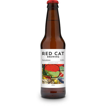 Red Cat - Salustiana - Orange Sour - 330ml Bottle